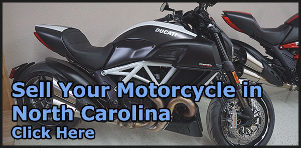 Sell Your Used Motorcycle in North Carolina